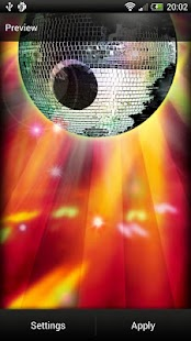 Disco Ball Live Wallpaper- screenshot thumbnail
