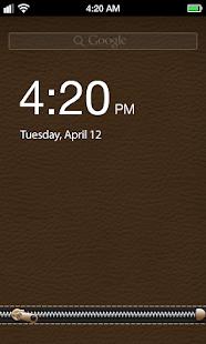 Zip Style Lock Screen