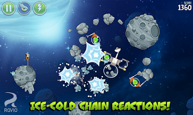 Angry Birds Space HD Screenshot 11