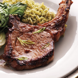 Soy-and-Ginger-Marinated Pork Chops.