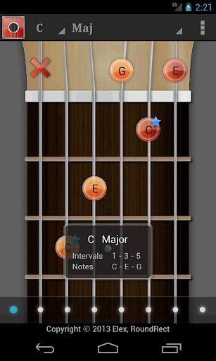 ギターコード スケール ゲーム チューナー LE