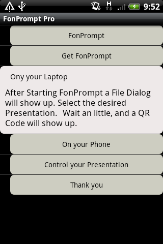 Remote for PowerPoint PRO- screenshot