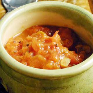 Tomato-Garlic Chutney.