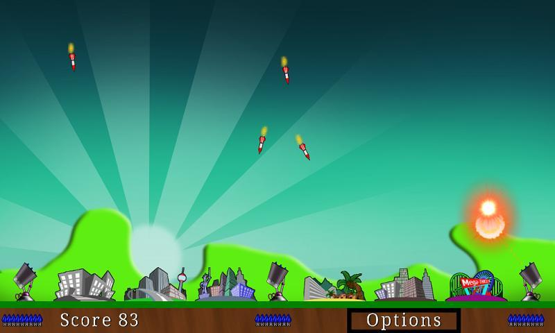 Nuclear Defence Force Lite - screenshot