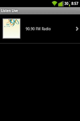 "9090 Radio"" is an Egyptian commercial FM radio station broadcasting"