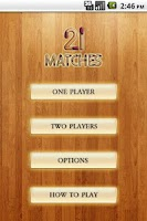 Screenshot of 21 Matches