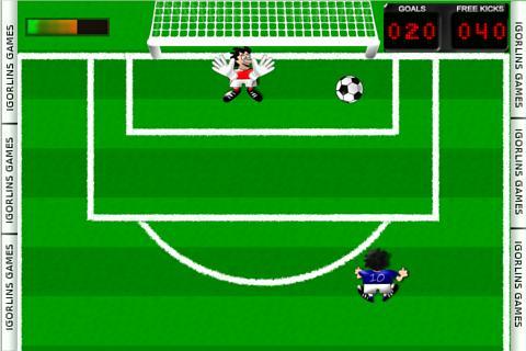 Free Kick Football Lins