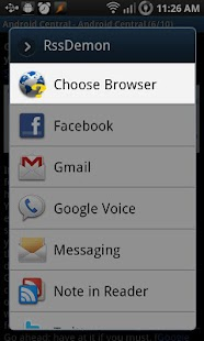 Choose Browser - screenshot thumbnail