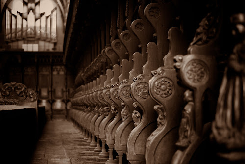 Choir Stalls  by Johannes Oehl - Buildings & Architecture Places of Worship ( kloster maulbronn, complex, cistercian monastery, gothic, maulbronn monastery, church, middle ages, unesco, baden-württemberg, romanesque, cistercians, monastery, maulbronn, germany, medieval, unesco world heritage, choir stalls,  )