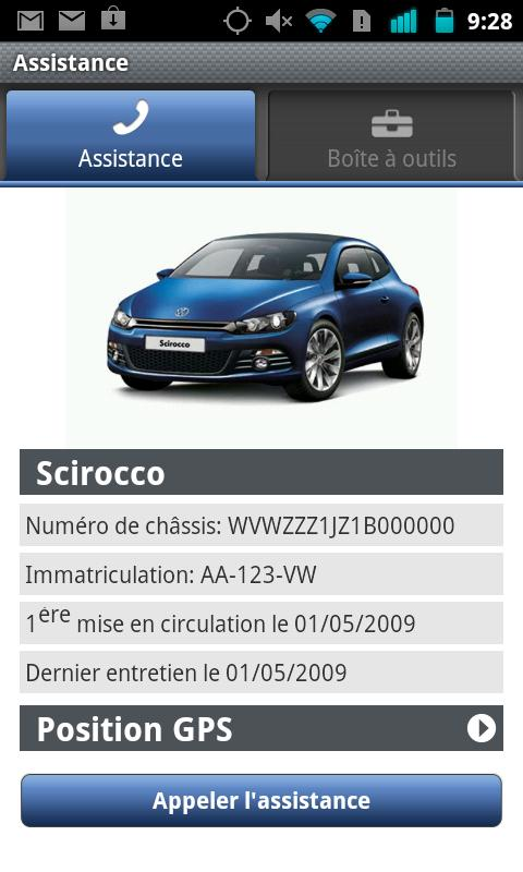 volkswagen service applications android sur google play. Black Bedroom Furniture Sets. Home Design Ideas