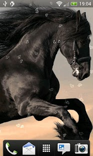 Horses Live Wallpaper - screenshot thumbnail