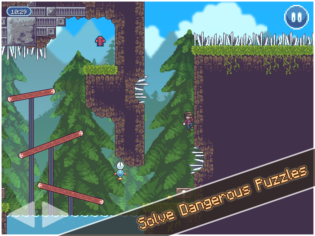 Lumber Jacked - Platform Game - screenshot