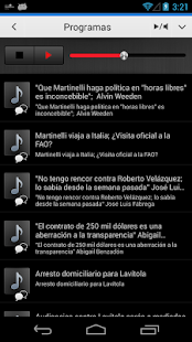 Radio Panamá para Android- screenshot thumbnail