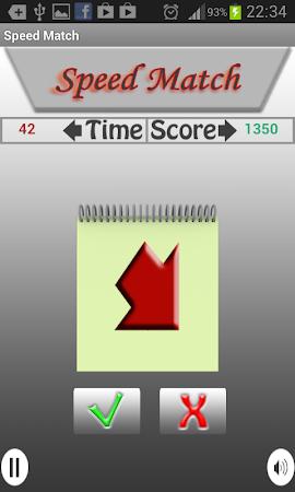 Speed Match - Matching Game 1.2 screenshot 58093