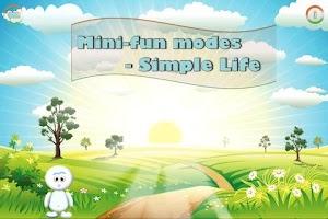 Screenshot of Simple Life