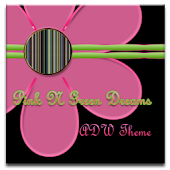 ADW Theme | PinkNGreenDreams