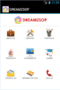 Dreamzsop Web/Apps Designing- screenshot thumbnail
