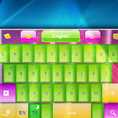 Neon Waves Keyboard