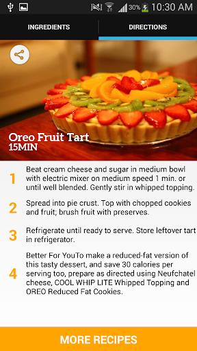 Oreo Fruit Tart Recipe
