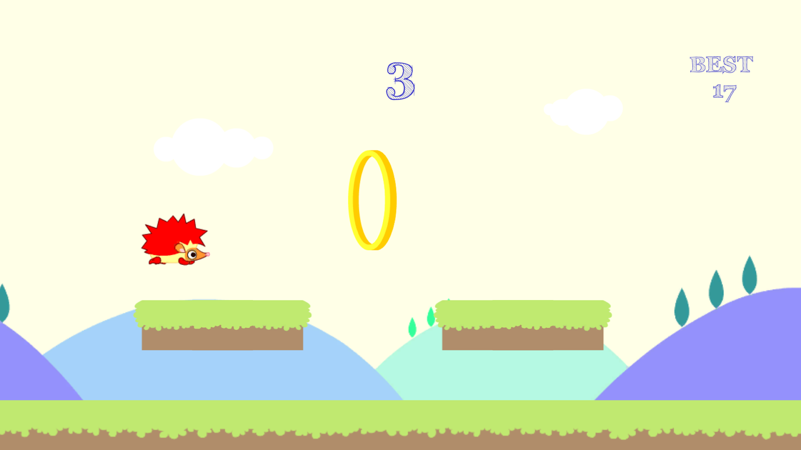 Hedgy Jumper- screenshot