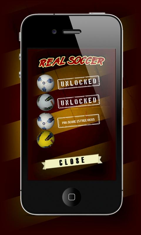 Real Soccer Flick - screenshot