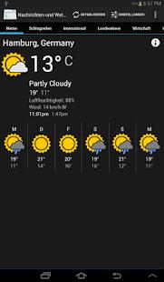 Nachrichten Und Wetter App