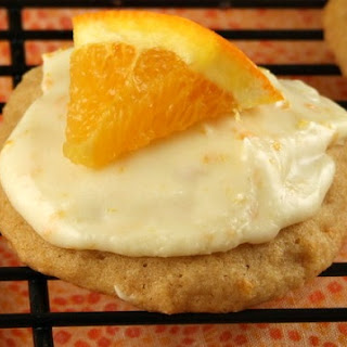 Iced Orange Cookies.