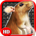 Sewer Rat Run 3D HD icon