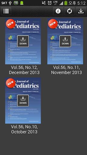 【免費醫療App】Korean Journal of PEDIATRICS-APP點子