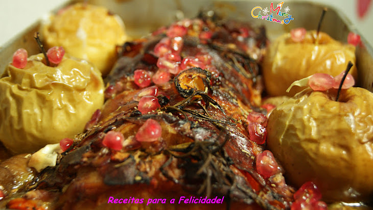 Roast Pork Loin with Apples Recipe