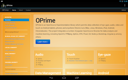 OPrime- screenshot thumbnail