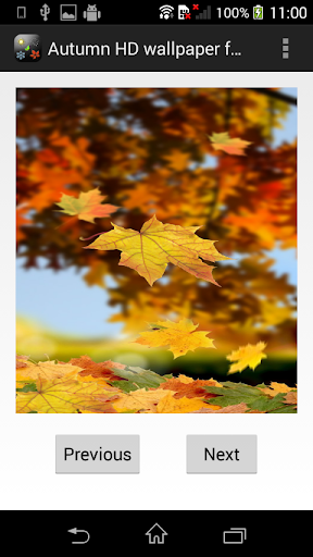 Autumn HDwallpaper for Viber