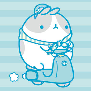 download Molang IceCream Blue Atom apk