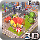 Cartoon City 3D live wallpaper