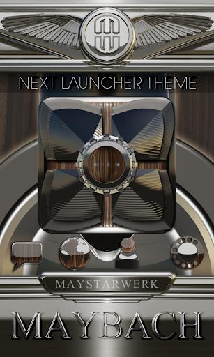 Next Launcher Theme Maybach