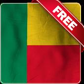 Benin flag Free live wallpaper