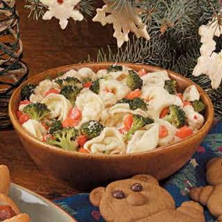 Confetti Tortellini Salad.