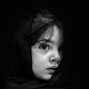 by Nabeel Madarati - Black & White Portraits & People