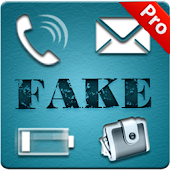 Fake Call,SMS,Text - Pro