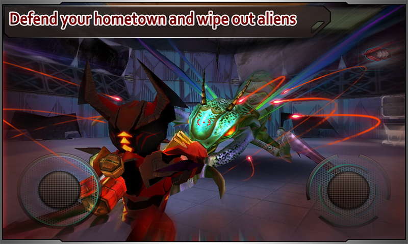 Star Warfare:Alien Invasion - screenshot