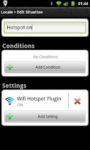Locale Wifi Hotspot Plug-in - screenshot thumbnail
