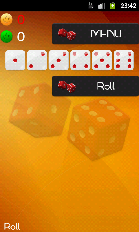 Dice Game - screenshot
