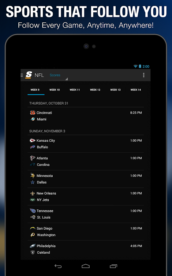 theScore: Sports & Scores - screenshot