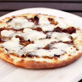 Honey Goat Cheese Pizza