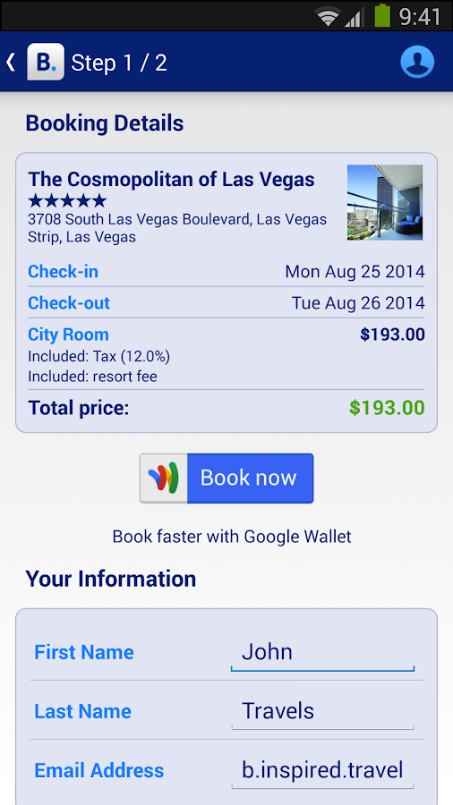 Hotel reservations android apps on google play for The hotel reservation