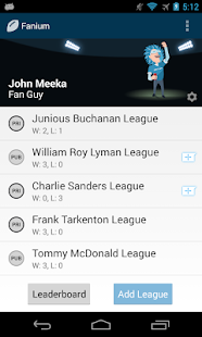 Fanium: Fantasy Football 2013 - screenshot thumbnail
