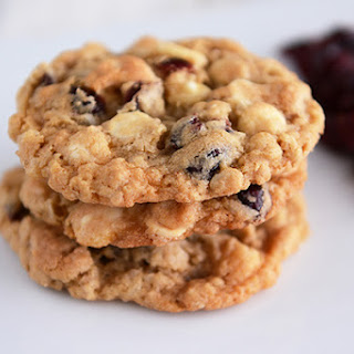 White Chocolate Oatmeal Craisin Coconut Cookies