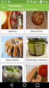 Recetario, recetas de cocina - screenshot thumbnail
