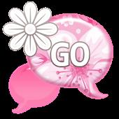 GO SMS - Delicate Flower