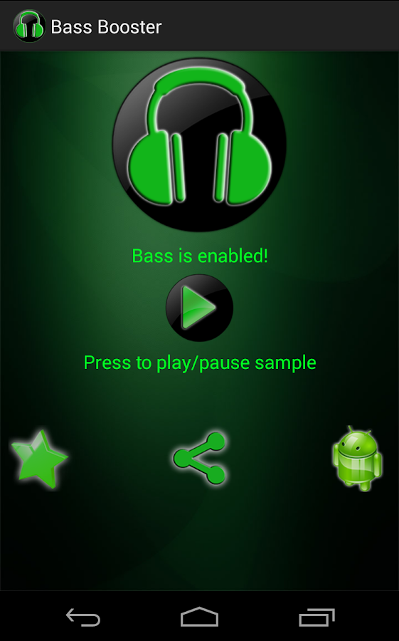 Bass Booster- screenshot